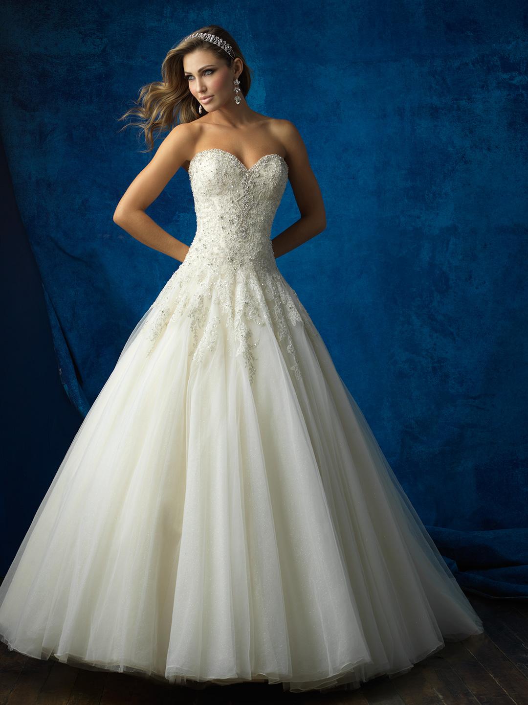Allure Bridals 9573 Price Key